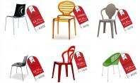 Promotia primaverii la scaunele Trend Furniture! Scaune moderne din policarbonat si tehnopolimer rezistente la trafic intens