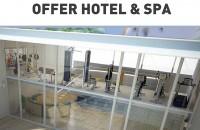 Hotel sau Spa, oferte saune si fitness personalizate pentru 15mp, 25 mp si 35 mp Aparate de fitness cu design italian unic, usor de folosit, rezistente si functionale. Consultanta si servicii conexe. Discound pana la 40%.