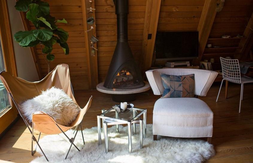 O Cabana Amenajata Cu Gust Si Eleganta
