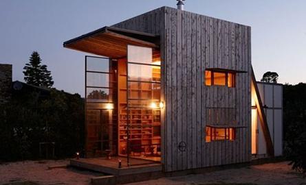 O casa pe plaja, un spatiu compact cu tot ce ai nevoie