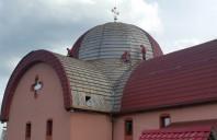 Au inceput lucrarile de reabilitare a invelitorii si de termoizolatie interioara pentru Biserica Ortodoxa Romana Sibiu