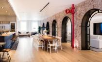 Două lofturi devin un singur apartament generos