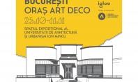 """B MAD 3 0 """"București - Oraș Art Deco"""" - redescoperire contextualizare dezbatere Proiectul se desfășoară"""