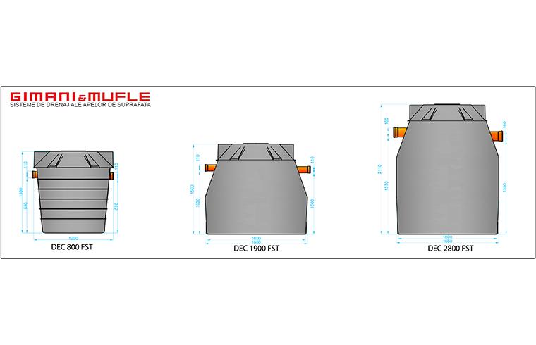 Separatoare de hidrocarburi pentru tratarea apelor reziduale