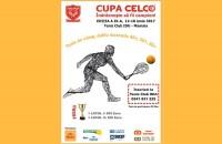 Cupa CELCO de Tenis de Câmp pentru veterani, ed. a IX-a, începe pe 12 iunie în Mamaia  Cupa CELCO de Tenis de Câmp pentru veterani, ediția a IX-a, va avea loc în perioada 12-18 iunie 2017 la Tenis Club IDU, Mamaia, pe terenurile de zgură.