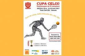 Cupa CELCO de Tenis de Câmp pentru veterani ed a IX-a începe pe 12 iunie în