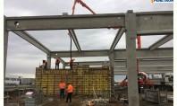 Impermeabilizare bazin de incendiu pe șantierul Systronics din Arad Datorita increderii acordate produselor Penetron constructorul a