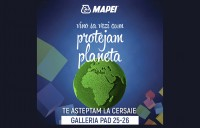 Vino sa vezi cum Mapei protejeaza planeta, la Cersaie 2016!