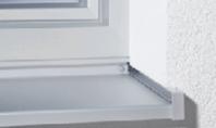 Glafuri Helopal pentru exterior din aluminiu Glafurile din aluminiu sunt disponibile in 6 culori si pot