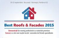 BEST ROOFS & FACADES 2015, evenimentul anului pentru montatorii de acoperisuri