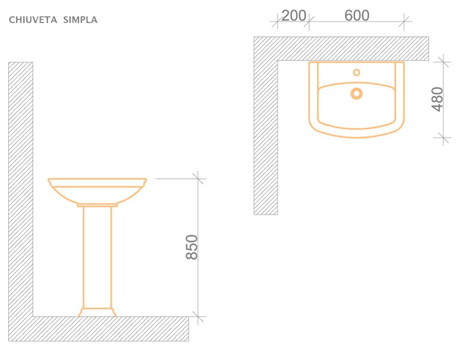 chiuveta_simpla_model