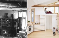 Studioul unui artist din anii '70 a fost transformat într-o casă luminoasă și aerisită In 2014, studioul a fost mostenit de Christine, fiica pictorului, care l-a folosit ca spatiu de intalnire cu prietenii si familia. Abia trei ani mai tarziu a