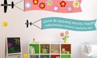 Cauti un cadou de 1 iunie pentru copilul tau? Decoreaza-i camera cu ajutorul gamei Happy Daca