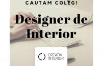 Creativ Interior caută un coleg pe post de designer de interior
