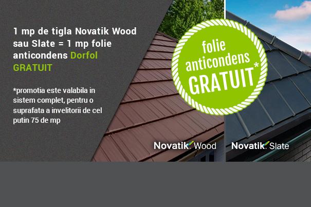 Novatik Slate și Novatik Wood - cele mai noi profile din portofoliul Final Distribution