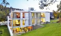 Locuinta din Luxemburg cea mai durabila cladire rezidentiala marca Richard Meier Echipa de la biroul Richard