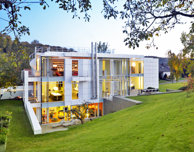 Locuinta din Luxemburg, cea mai durabila cladire rezidentiala marca Richard Meier