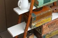 Proiect neconventional: raft din carje vechi de lemn
