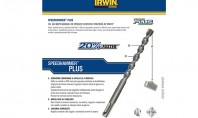 Cel mai rapid burghiu de percutie - Speedhammer PLUS - IRWIN Burghiele pentru beton Irwin Speedhammer™