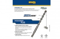 Cel mai rapid burghiu de percutie - Speedhammer PLUS - IRWIN