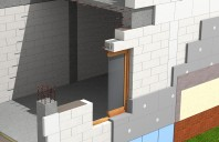 Sistem de zidarie confinata din BCA Macon pentru constructii rezidentiale, publice si industriale