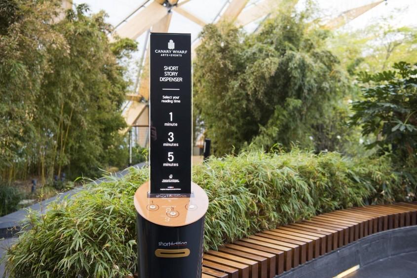 Idei de împrumutat: Automate cu povestiri scurte gratuite, la metrou