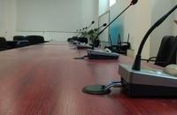 Instalarea unui sistem complex de conferinţă şi vot la Consiliul Local Alba Iulia