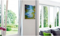 Ventilarea încăperilor cu geamuri termopan Pe geam se va forma condens si va creste umiditatea pe