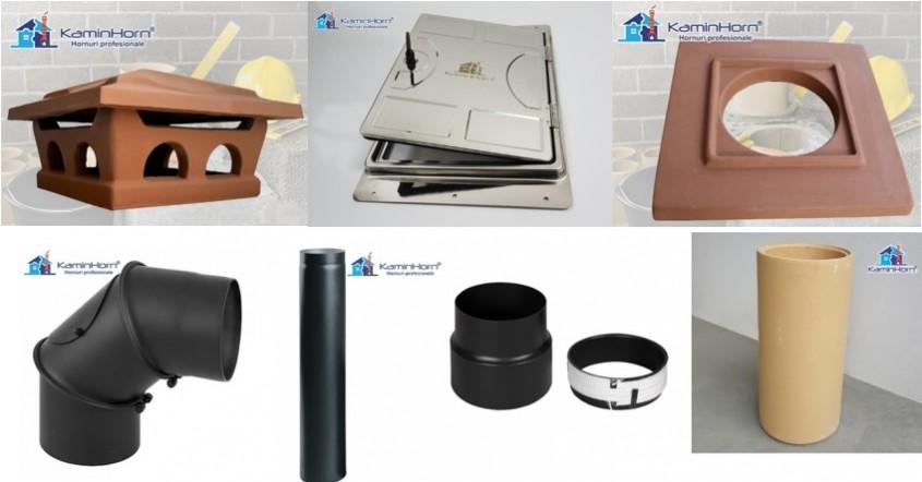accesorii - Ce accesorii sunt necesare pentru un coș de fum profesional?