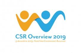 Despre responsabilitate socială și sustenabilitate, la cea de-a 7-a ediție a CSR OVERVIEW 2019