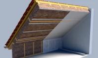 Membranele LDS de la Knauf Insulation pentru izolarea acoperisurilor inclinate Umiditatea si condensul pot deveni probleme