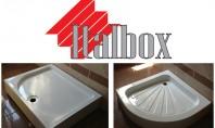 Gama variata de cadite de dus din acril la Italbox Doriti schimbari in baia dumneavoastra si