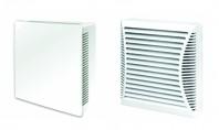 Ventilatoare casnice cu consum redus de energie Ventilatoarele casnice 100B3 si 100B4 au un consum foarte mic de energie si sunt destinate pentru ventilatia de evacuare in bai si toalete.