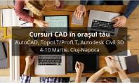 Cursuri de instruire CAD în Cluj-Napoca Inscrierea la cursurile CAD ajuta la cresterea productivitatii dar si