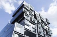 Volume suprapuse transformă clădirea Slate din Portland într-o minune a eficienței Imobilul, proiectat de echipa Works Progress Architecture pentru dezvoltatorii Urban Development Partners is Beam Development, a primit certificatul LEED Gold