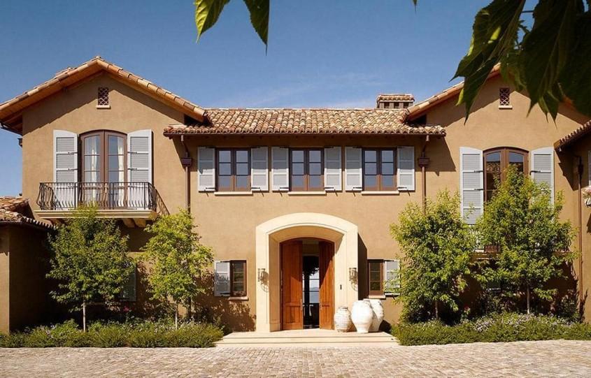 Tencuiala decorativă, factorul care definește arhitectura casei