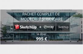 Ofertă specială până pe 22 decembrie pentru SketchUp și V-Ray for SketchUp
