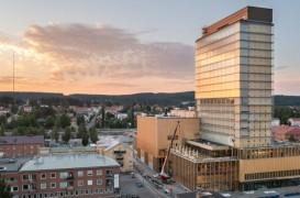 Una dintre cele mai înalte clădiri din lemn din lume a fost finalizată