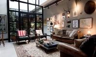O casa eclectica amenajata intr-un garaj din anii '50 Arhitect la firma Bricks James van der