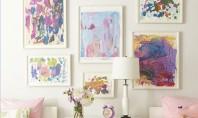 Solutii simple pentru decorarea peretilor Suprafata libera a peretilor va ofera ocazia sa interveniti in diferite