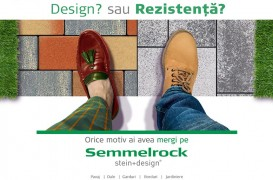 Şi design, şi rezistenţă cu dalele și pavajele Semmelrock – 10% discount până pe 15 noiembrie