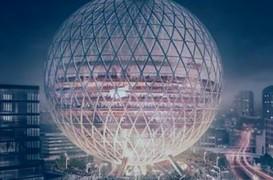 O sală de concerte în formă sferică este planificată pentru estul Londrei