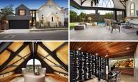 O biserică veche din lemn folosită acum ca reședință de lux Biroul Bagnato Architects adica echipa