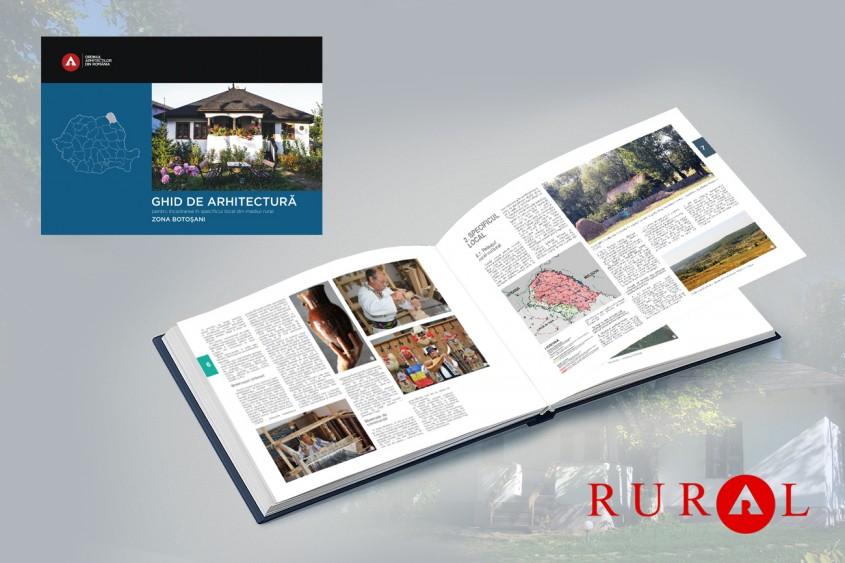 Zona Botoșani. Ghid de arhitectură pentru încadrarea în specificul local din mediul rural