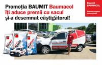 Promotia BAUMIT Baumacol iti aduce premii cu sacul si-a desemnat castigatorul!