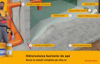 Hidroizolarea bazinelor de apă – soluţie tehnică