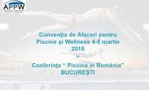 Cea de-a 4-a Editie a Conventiei de Afaceri pentru Piscine si Wellness