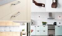 Variante de mânere și butoni pentru dulapurile din bucătărie Designul bucatariei nu ar fi complet daca