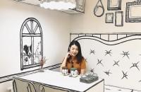 În această cafenea te simți ca un personaj de desene animate Cafeneaua Yeonnam-dong a fost