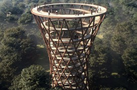 Un turn de observare cu design uluitor va putea fi folosit începând de anul viitor